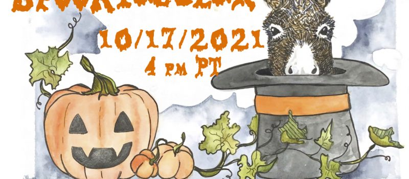 ONLY TWO WEEKS UNTIL THE DONKEY SPOOKTACULAR!