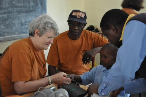 ann and pascal at orphanage
